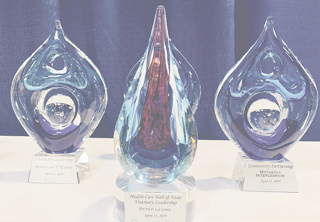 Peter Levine and local health care champions honored at
